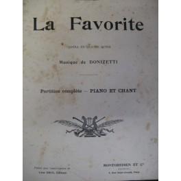 DONIZETTI Gaetano La Favorite