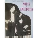 JANOPOULO Tasso Notes et Anecdotes Dédicace 1957