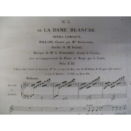 BOIELDIEU Adrien La Dame Blanche n° 5