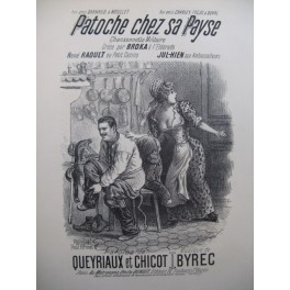 BYREC Patoche chez sa Payse Chant Piano XIXe