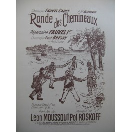 ROSKOFF Pol Ronde des Chemineaux Chant Piano
