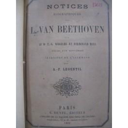 WEGELER & RIES Notices Biographiques sur BEETHOVEN 1862